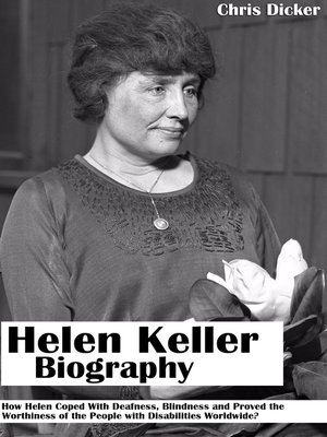 cover image of Helen Keller Biography