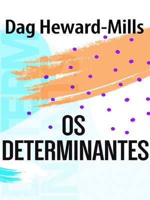 cover image of Os Determinantes