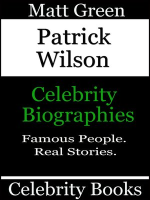 cover image of Patrick Wilson