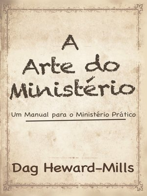 cover image of A Arte Do Ministério