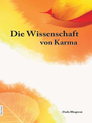 cover image of Die Wissenschaft von Karma