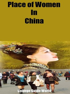 cover image of Place of Women In China