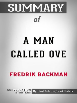 cover image of Summary of a Man Called Ove