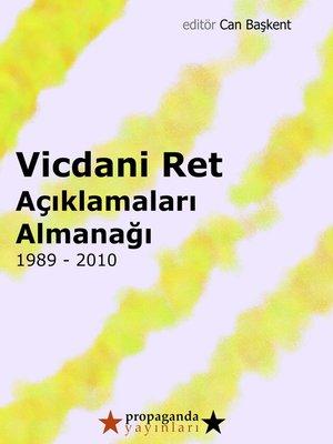 cover image of Vicdani Ret Açıklamaları Almanağı