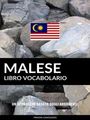 cover image of Libro Vocabolario Malese