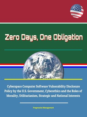 cover image of Zero Days, One Obligation
