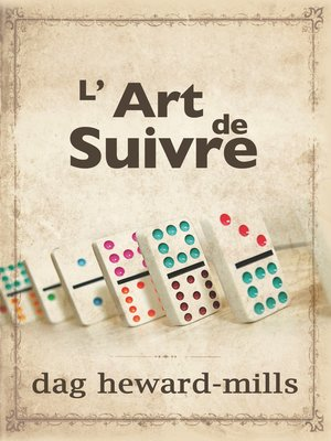 cover image of L'art de suivre