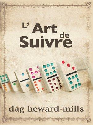 cover image of L'art de suivre