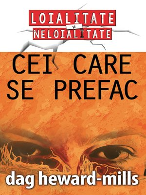 cover image of Cei care se prefac