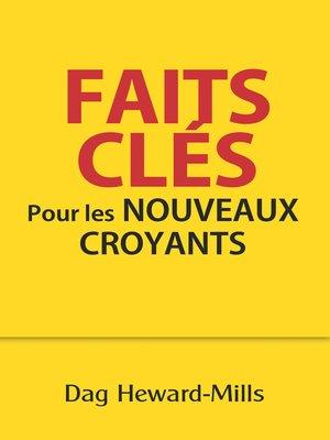 cover image of Faits clés pour les nouveaux croyants