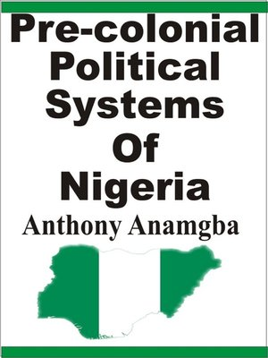 cover image of Pre-colonial Political Systems of Nigeria