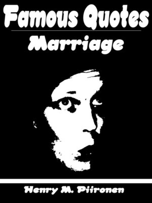 cover image of Famous Quotes on Marriage
