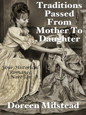 cover image of Traditions Passed From Mother to Daughter