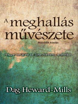cover image of A meghallás művészete
