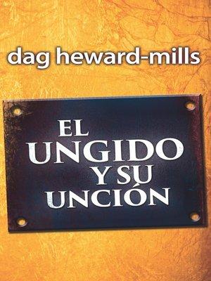 cover image of El ungido y su unción