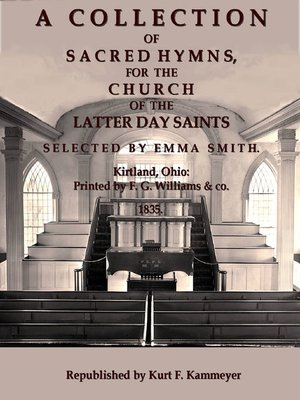cover image of A Collection of Sacred Hymns, for the Church of the Latter Day Saints