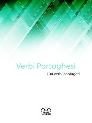 cover image of Verbi portoghesi (100 verbi coniugati)