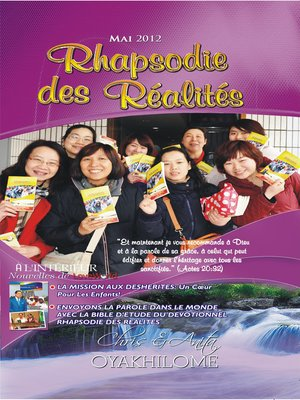 cover image of Rhapsody of Realities May 2012 French Edition