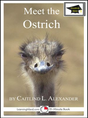 cover image of Meet the Ostrich