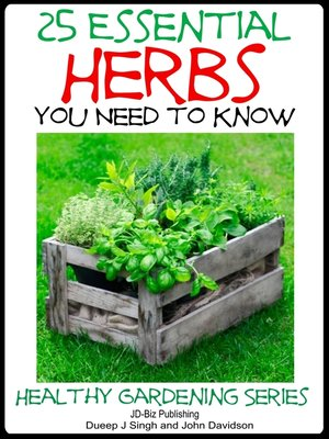 cover image of 25 Essential Herbs You Need to Know
