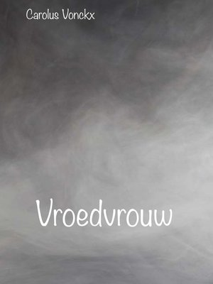 cover image of Vroedvrouw