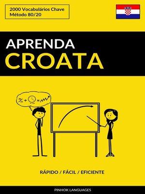 cover image of Aprenda Croata