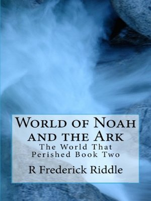 cover image of World of Noah and the Ark