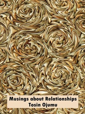 cover image of Musings about Relationships