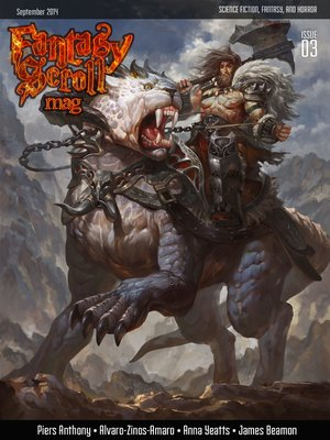 cover image of Fantasy Scroll Magazine Issue #3
