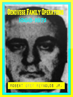 cover image of Genovese Family Operations 1969-1972