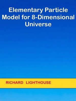 cover image of Elementary Particle Model for 8-Dimensional Universe