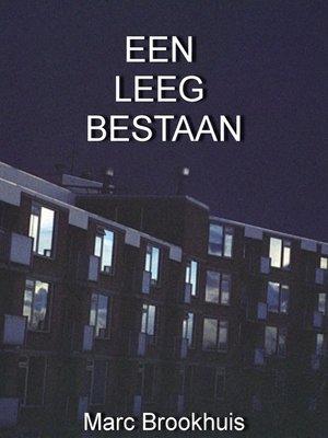 cover image of Een Leeg Bestaan