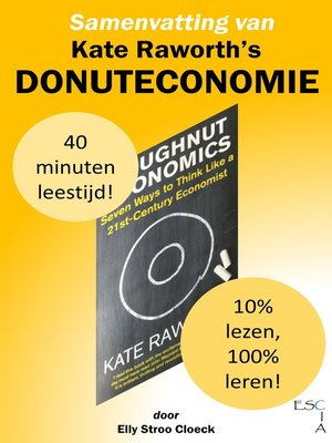cover image of Samenvatting van Kate Raworth's Donuteconomie