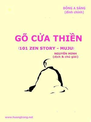 cover image of Gõ cửa Thiền (101 Zen Stories--Thiền sư Muju)