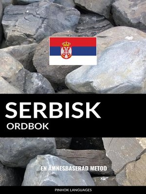 cover image of Serbisk ordbok