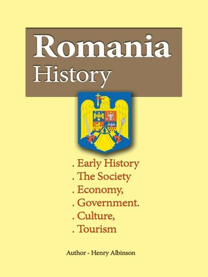 cover image of Romania History