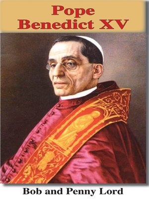cover image of Pope Benedict XV