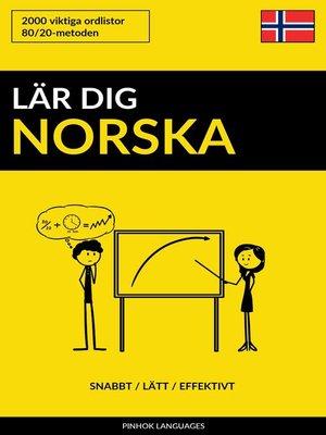 cover image of Lär dig Norska