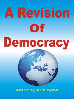 cover image of A Revision of Democracy