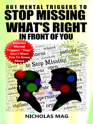 cover image of 861 Mental Triggers to Stop Missing What's Right in Front of You