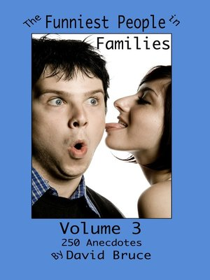 cover image of The Funniest People in Families, Volume 3