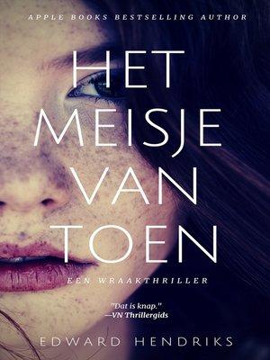 cover image of Het meisje van toen