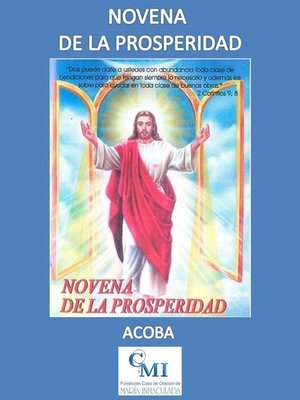 cover image of Novena de la Properidad