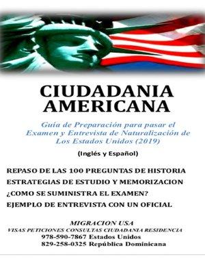 cover image of Ciudadania Americana
