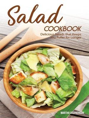 cover image of Salad Cookbook