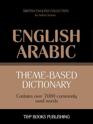 cover image of Theme-based dictionary British English-Arabic