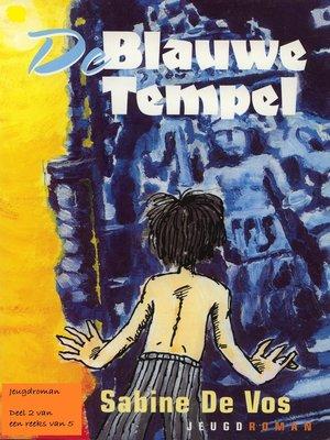 cover image of De Blauwe Tempel