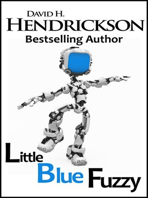 cover image of Little Blue Fuzzy