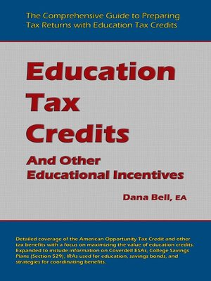 cover image of Education Tax Credits