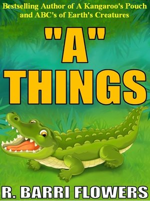 "cover image of ""A"" Things (A Children's Picture Book)"